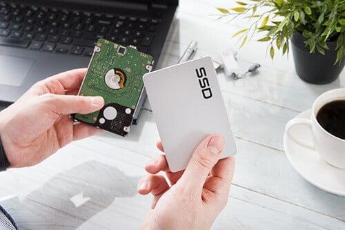 ssd harddisk ile standart harddisk arasındaki fark